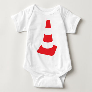 roadmarker traffic cone roadwork baby bodysuit