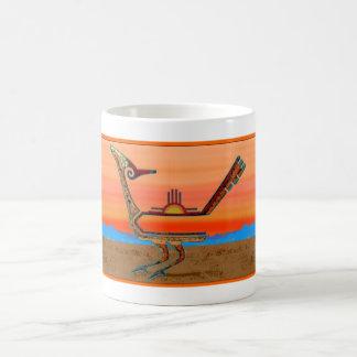 Roadrunner at Sunset Coffee Mug