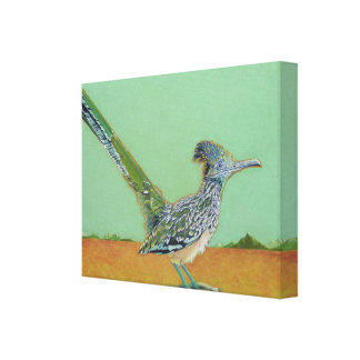 Roadrunner Gallery Wrapped Canvas
