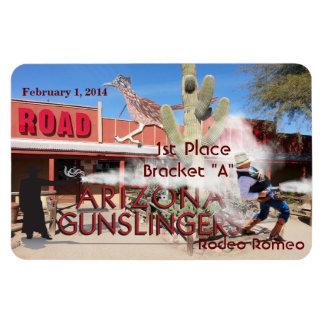 Roadrunner Saloon Bracket A 1st Place Rectangular Photo Magnet
