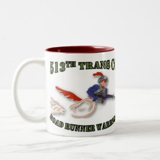 Roadrunner Warriors Two-Tone Coffee Mug