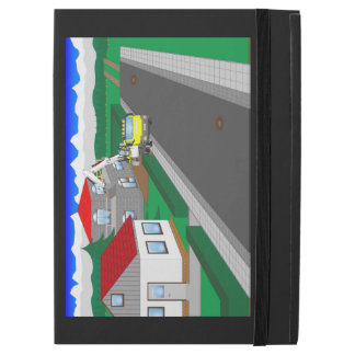 "Roads and building of houses iPad pro 12.9"" case"