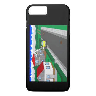 Roads and building of houses iPhone 8 plus/7 plus case