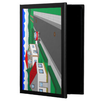 Roads and building of houses powis iPad air 2 case