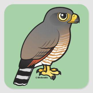 Roadside Hawk Stickers
