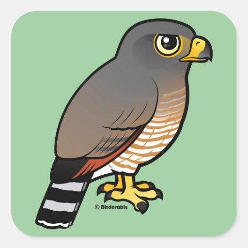 Roadside Hawk Stickers