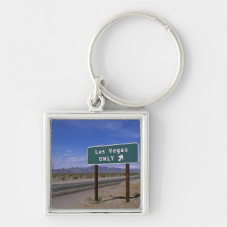 Roadside sign showing direction, California Keychain
