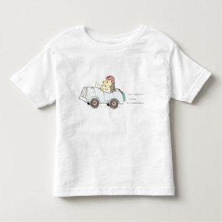 roadster hedgehog toddler t-shirt