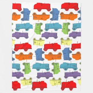 Roadsters Fleece Blanket