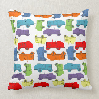 Roadsters Throw Pillow