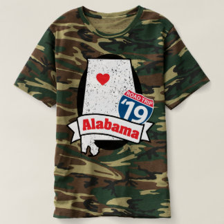 Roadtrip Alabama '19 T-shirt (camo)