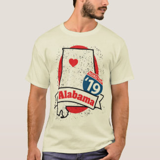 Roadtrip Alabama '19 T-shirt (white)