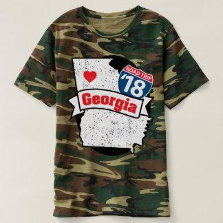 Roadtrip Georgia '18 T-shirt (camo)