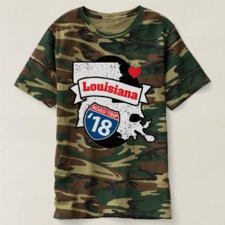 Roadtrip Louisiana '18 T-shirt (camo)