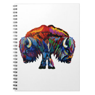 ROAM THE PLAINS SPIRAL NOTE BOOKS