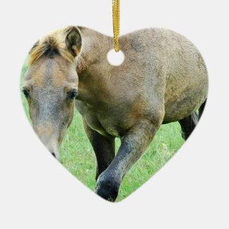 Roaming Roan Horse Ornament