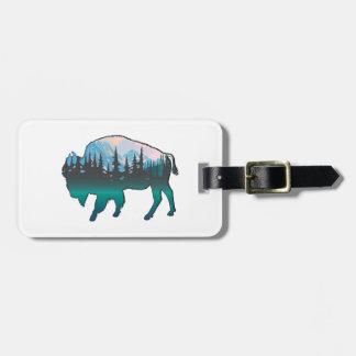 Roaming Yellowstone Luggage Tag