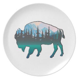 Roaming Yellowstone Plate