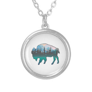 Roaming Yellowstone Silver Plated Necklace
