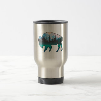 Roaming Yellowstone Travel Mug