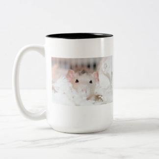 Roan Domestic Rat Mug
