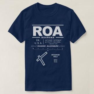 Roanoke - Blacksburg Regional Airport ROA T-Shirt