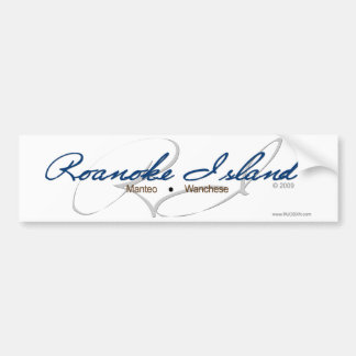 Roanoke Island Bumper Sticker