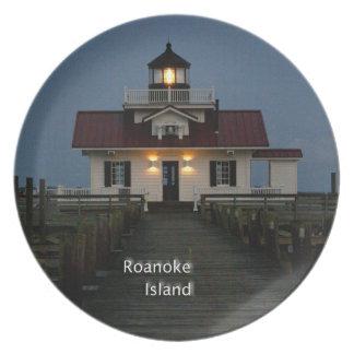 Roanoke Island Lighthouse Plate
