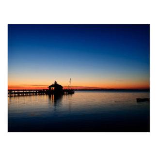 Roanoke Marshes Lighthouse Postcard