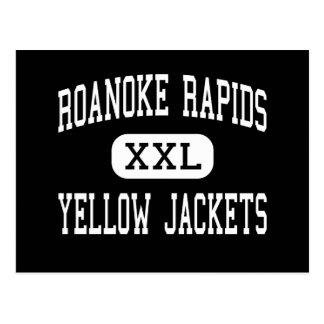 Roanoke Rapids - Yellow Jackets - Roanoke Rapids Postcard