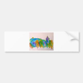 Roanoke Sparkle Bumper Sticker