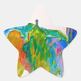 Roanoke Sparkle Star Sticker