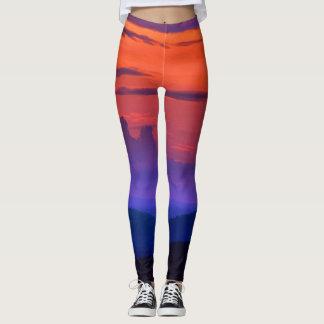 Roanoke Sunrise - leggings