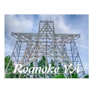 roanoke va postcard