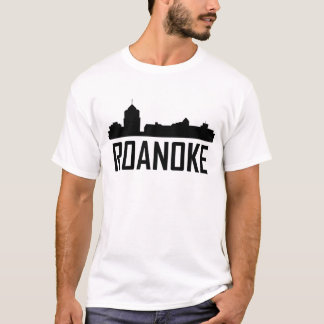 Roanoke Virginia City Skyline T-Shirt
