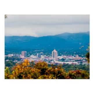 roanoke virginia postcard