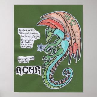 Roar 11x14 poster