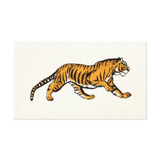 Roar! I'm a Tiger! - accent canvas art