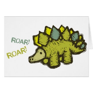 Roar! Roar! Card