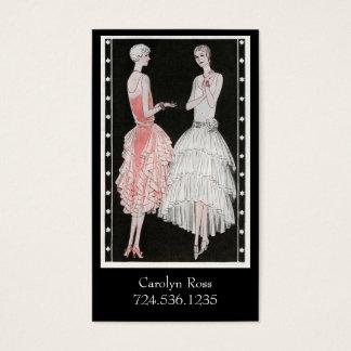 Roaring 20s Fashion Business Card