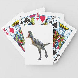 Roaring Aucasaurus Dinosaur Poker Deck