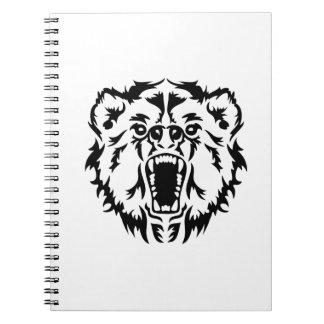 Roaring bear notebook