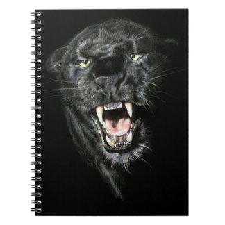 Roaring Black Panther Notebooks