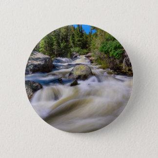 Roaring Colorado Ouzel Creek 2 Inch Round Button