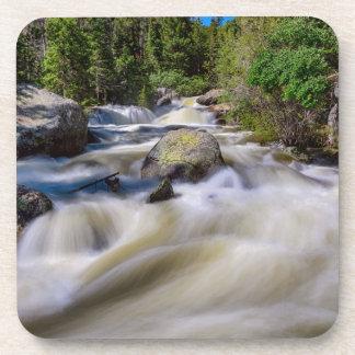 Roaring Colorado Ouzel Creek Beverage Coasters