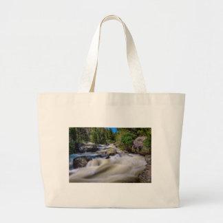 Roaring Colorado Ouzel Creek Large Tote Bag
