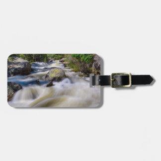 Roaring Colorado Ouzel Creek Luggage Tag