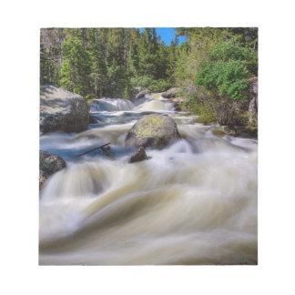 Roaring Colorado Ouzel Creek Notepad