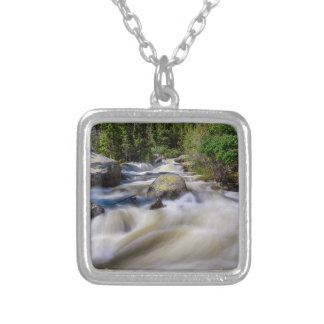 Roaring Colorado Ouzel Creek Silver Plated Necklace