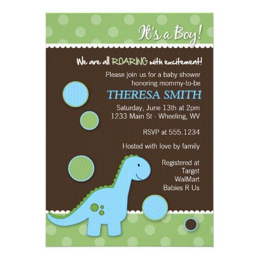 Baby Shower Invitations Dinosaur Theme for good invitation design